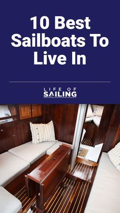 Jun 9, 2019 - Living aboard a sailboat is an exciting lifestyle choice, but there are lots of considerations you'll need to make. First and foremost, you have to pick a boat to live in. Sailboat, Boats, Sailing, Lifestyle, Live, Storage, Home Decor, Sailing Boat, Candle