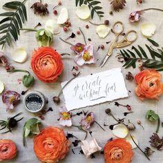 Create! Create! Create! #calligraphy #blooooms