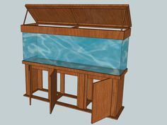 Fish Tank Stand Build