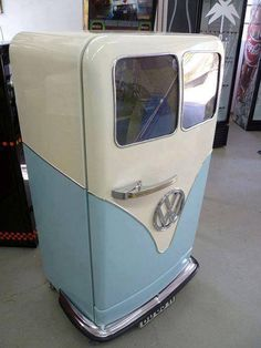 VW  REFRIGERATOR. WHOEVER THOUGHT OF THIS IS PRETTY SMART !!!!