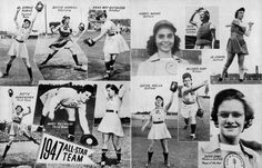 All-American Girls Professional Baseball League | Photograph | Wisconsin Historical Society