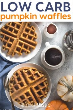 Personalized Graduation Gifts - Ideas To Pick Low Cost Graduation Offers Low Carb Pumpkin Waffles Are A Great Way To Start The Day, Full Of That Pumpkin Spice You Love And Fits Well With Your Low Carb And Keto Diets Breakfast Waffles, Low Carb Breakfast, Perfect Breakfast, Breakfast Recipes, Breakfast Ideas, Ketogenic Breakfast, Breakfast Menu, Low Carb Waffles, Healthy Waffles