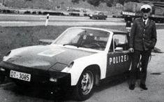 Volkswagen-Porsche 914 police car (1974)