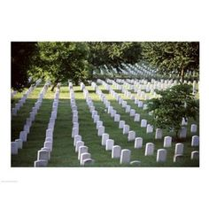 Arlington National Cemetery Arlington Virginia USA Canvas Art - (24 x 18)