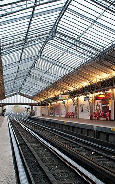 Glacière Metro Station, Paris