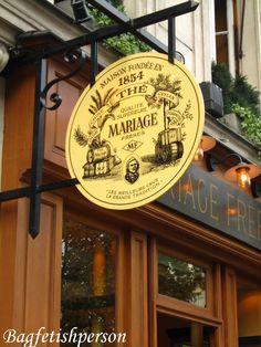 bagfetishperson: Mariage Freres: Maison de the a Paris