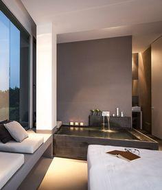 Interior Design Bath in Bedroom Zash Country Sicily