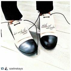 A little #mondaymotivation. #shoes : @ganordominic