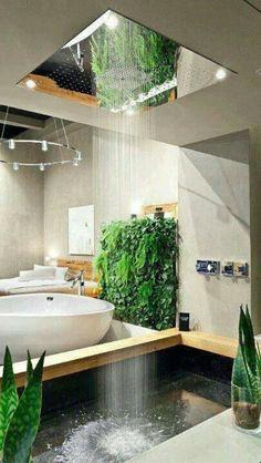 Das ist mein kühle Dusche . Es hat ein Bad auch . Es gibt ein großes Waschbecken und Toilette. #luxuryzengarden #luxurybathrooms