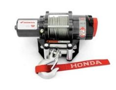 06-13 HONDA RINCON680: Honda Genuine Accessories Winch Kit by Honda. $529.95. 2,500 pounds (1,134 kgs.) of pulling force with an efficient electrical system for less battery drain.Rugged and reliable all metal 3-stage planetary geartrain is fully sealed to help keep the elements out.Features a handlebar mounted mini-rocker switch that is also fully sealed and a patented disc brake that provides the ultimate in winch control.Winch mount plate and all mounting kit ...