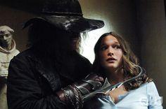 """Supernatural Season 1 Episode 2 -  """"Hook Man"""" Pictured (l-r): Brad Loree as Hook Man, Jane McGregor as Lori Credit: ©ÊThe WB/Sergei Bachlakov"""