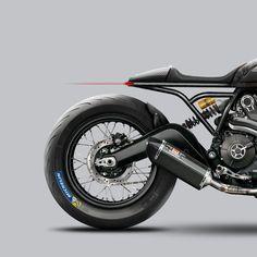 Ducati Scrambler Café Racer, Custom Concept | CustomBIKE.cc