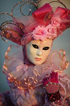 .Venice carnival costume/mask.