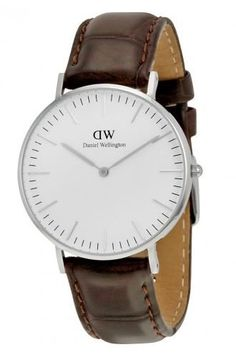 Daniel Wellington Womens 0610DW York Analog Display Quartz Brown Watch *** Check out this great product.Note:It is affiliate link to Amazon.