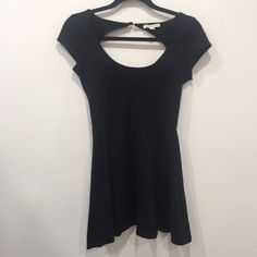 Black Mini Dress Comfy little black dress!  15% off bundles of 3+ Don't be afraid to offer!! American Eagle Outfitters Dresses Mini