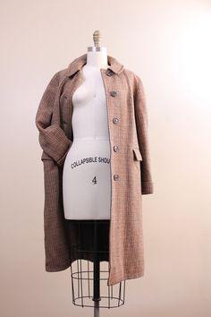 #vintage 1940s harris tweed coat! Get one!