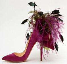 Louboutin Feather Shoes
