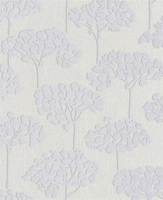 Sherwood White Wallpaper design by Graham and Brown