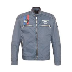 Hackett London Aston Martin Racing Moto Jacket