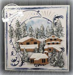 Marianne Design Creatables austrian village LR0443, Stanzschablone