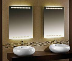 Die 36 besten Bilder von Badspiegel | Bath room, Glass und Light ...