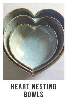 #hearts #nesting #bowls
