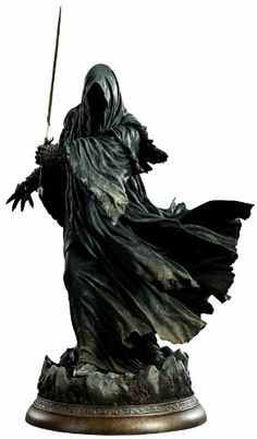 Lord Of The Rings: Statue: Ringwraith Dark Fantasy, Fantasy Art, Character Inspiration, Character Design, 3d Figures, Modelos 3d, Game Room Decor, Movie Characters, Lord Of The Rings