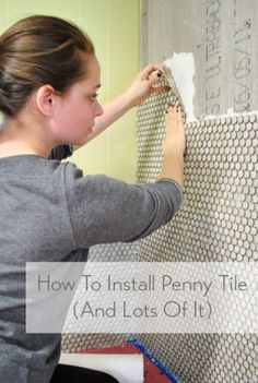 1000 ideas about penny wall on pinterest penny for How to make a penny wall