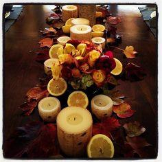Yolanda Foster's Thanksgiving table