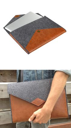Laptop sleeve that looks like a clutch.