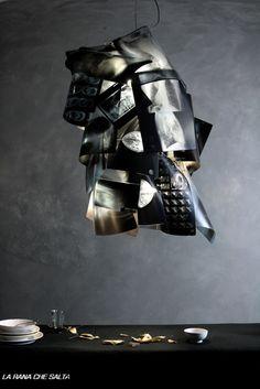 #Lampada da #soffitto #design #light #art #creative http://www.laranachesalta.com/ViewNews.aspx?IDNotizia=284