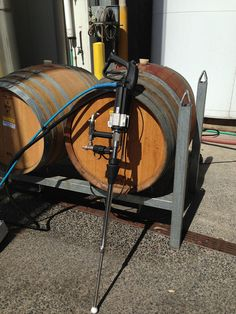 Sticks Winery owner discusses and shares his thoughts on the results of wine barrel cleaning demonstration with Bacchus Dry steam systems. Bacchus, Charcoal Grill, Cleaning Solutions, Deep Cleaning, Sticks, Restoration, Events, Victoria Australia, Wine