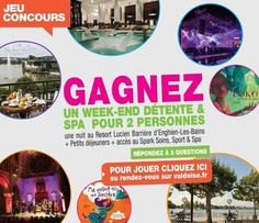 Gagnez un week-end détente Spa. Du 14 au 19 avril 2014.