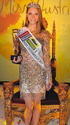 Miss Austria Julia Furdea Miss Universe 2014, Miss Pageant, Peplum Dress, Sequin Skirt, Star Wars, Sequins, Dresses, Fashion, Pictures