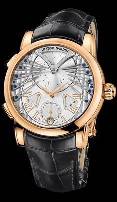 Ulysse Nardin Stranger.  B. Young & Co.  Luxury Timepieces and Jewelry.  byoungco.com  https://www.facebook.com/BYoungCo  john@byoungco.com