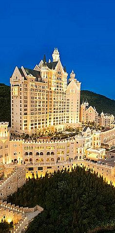 The Castle Hotel,Dalian, China Amazing Hotels, Best Hotels, Dalian China, Starry Night Wedding, Red Dragon, What A Wonderful World, Billionaire, Wonders Of The World, Wedding Colors