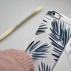 Botanical palm case - Katie Housley for Casetify