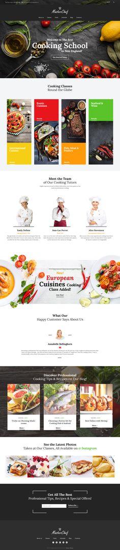 Master Chef Cooking School WordPress Theme - http://www.templatemonster.com/wordpress-themes/59011.html