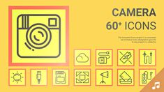 Camera and Photograph Equipment - Animated Icons And Elements