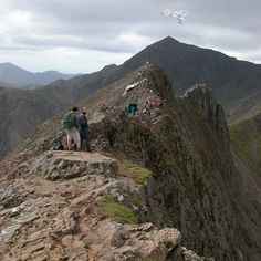 Crib Goch Ridge on a clear day.  Done!  18.05.13