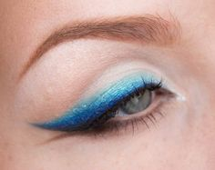 Everyday makeup – Blue baby blue