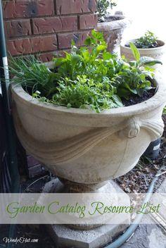 Garden Catalog Resource List