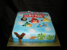 Angry Birds Cake 2D by specialcakes/tracey, via Flickr