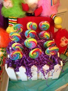 Lexie's 9th birthday with Rainbow Brite | CatchMyParty.com