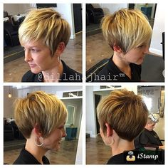 How to dry your pixie cut? Short hair, we do not need to dry it. The goal is that after the shower you can simply wring a little hair with a towel, apply a care product or styling and leave… Continue Reading → Cute Hairstyles For Short Hair, Girl Short Hair, Pixie Hairstyles, Short Hair Cuts, Short Hair Styles, Pixie Cuts, Grown Out Pixie, Hair Affair, Hair Studio