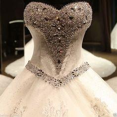 New Ivory/White wedding bridal gown dress custom size 6-8-10-12-14-16+++++