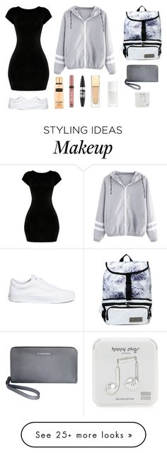 """"" by lilith-lily-potter on Polyvore featuring Victoria's Secret, Vans, STELLA McCARTNEY, Maybelline, Tucano and Happy Plugs"