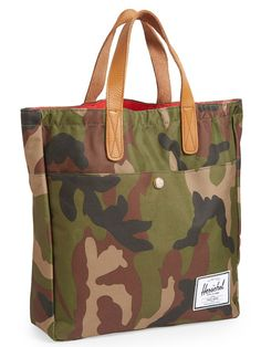 Product Image 1 (:Tap The LINK NOW:) We provide the best essential unique equipment and gear for active duty American patriotic military branches, well strategic selected.We love tactical American gear Herschel Supply Co. 'Brohm' Canvas Tote available at My Bags, Purses And Bags, Fall Bags, Fall Handbags, Patchwork Bags, Fabric Bags, Clutch, Shopper, Leather Handle