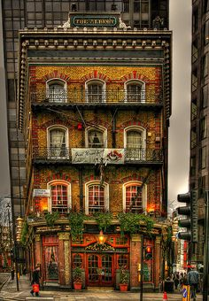The Albert Pub, Victoria Street Westminster, London, England