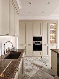 home design and decorating Modern Farmhouse Kitchens, Farmhouse Kitchen Decor, Country Kitchen, Home Kitchens, Design Hall, Küchen Design, Kitchen Room Design, Interior Design Kitchen, Scandinavian Kitchen